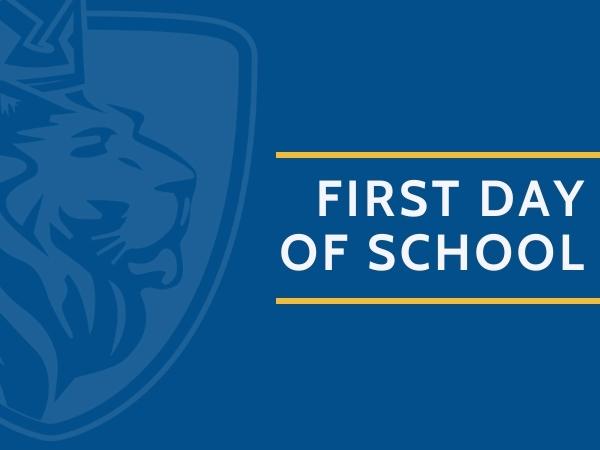 First Day of School K-12