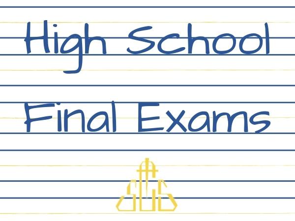 High School Final Assessments
