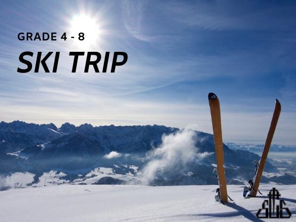 Deadline for Grades 4-8 Ski Trip Registration